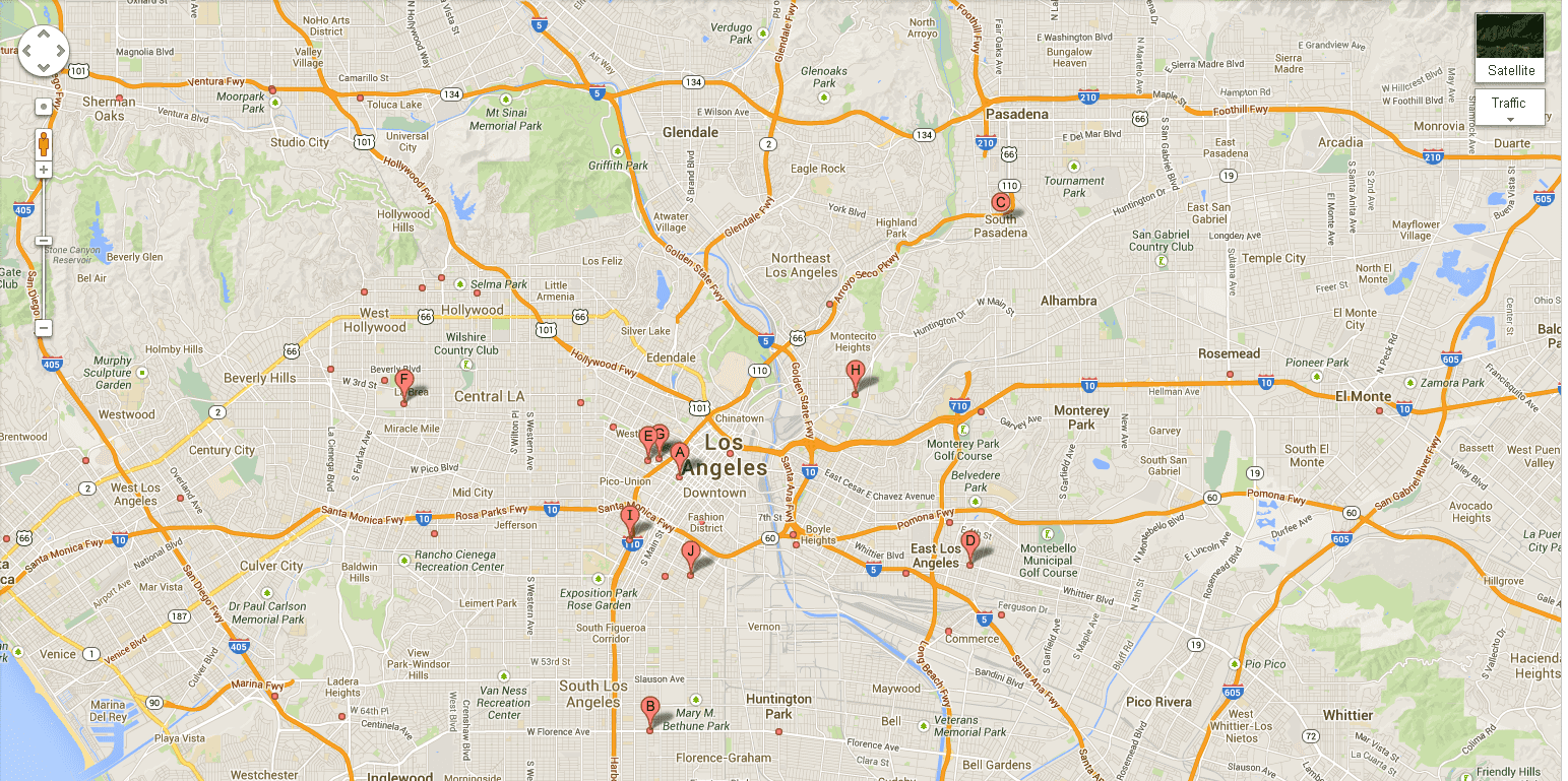 Signs You Are Listening To Too Much Phish The Phunion - Los angeles freeway map traffic