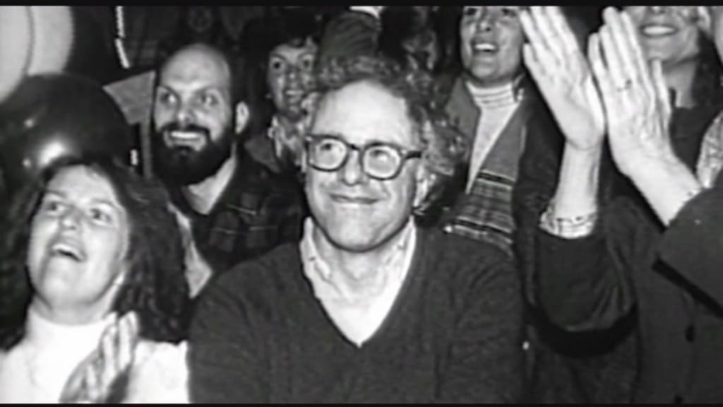 Bernie at the first Phish show at Nectar's, 12/1/84